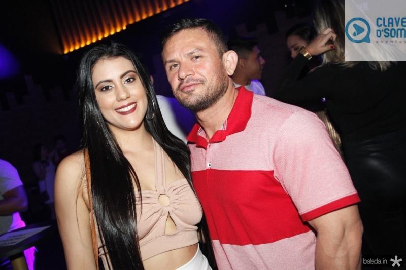 Leticia Silva e Rarisson Andrade