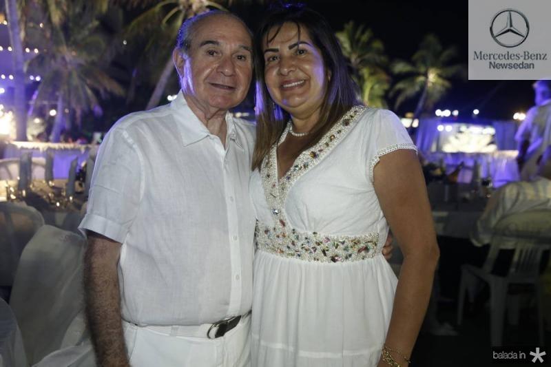 Tarquilio e Fernanda Pimentel