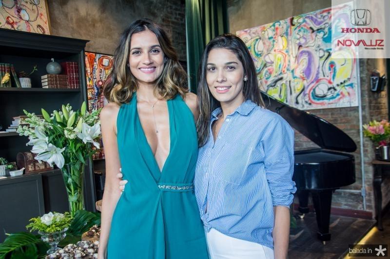 Lu Palhano e Rayana Dias