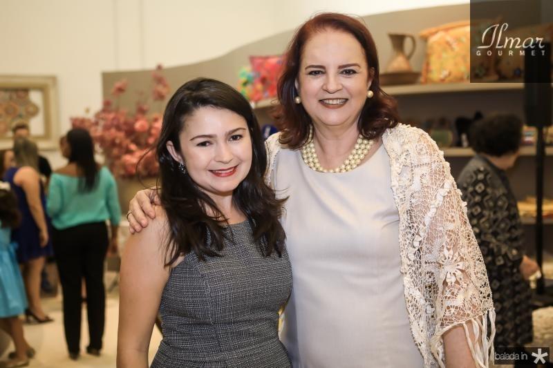 Dania Lopes e Ethel Whitehurst