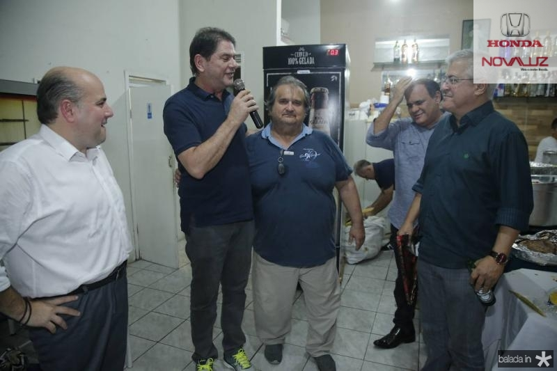 Roberto Claudio, Cid Gomes, Vaval, PC Noroes e Roberto Moreira 2