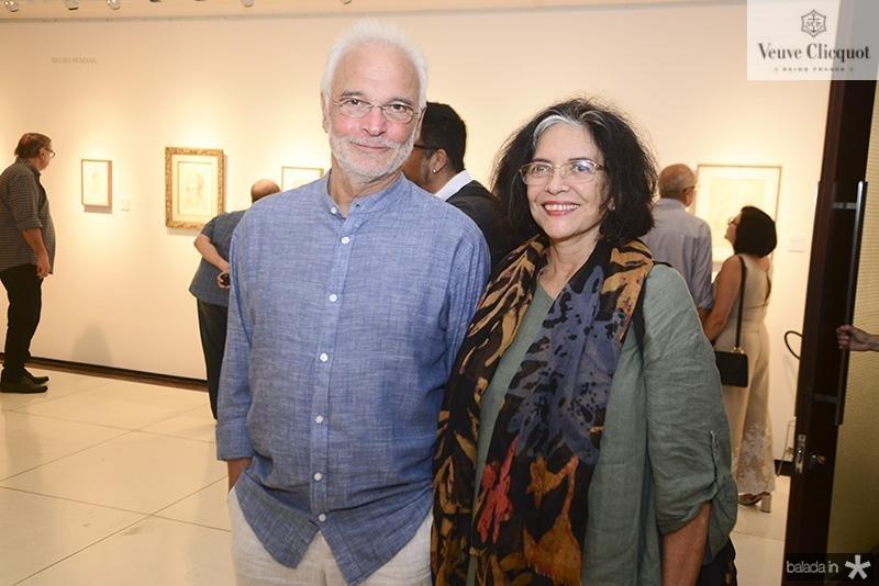 Theo Vantesande e Ana Miranda