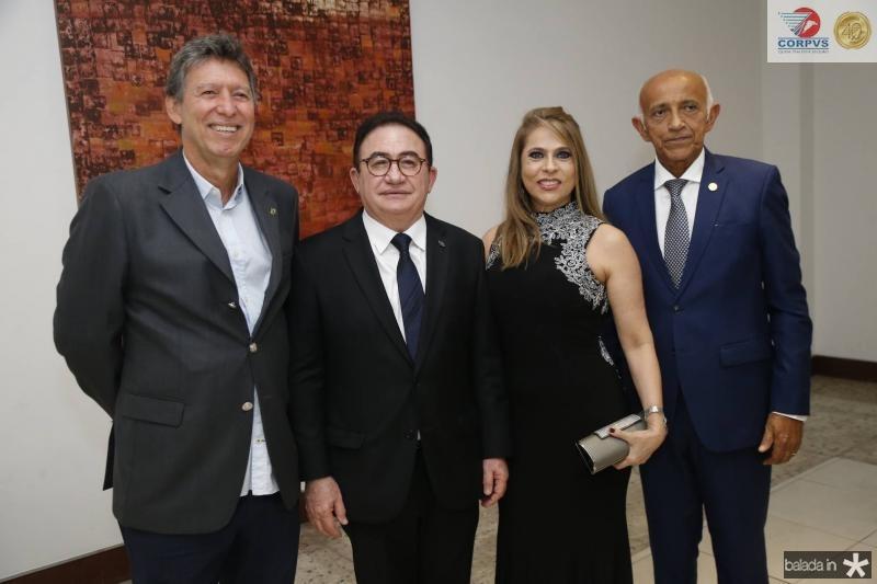Luciano Carneiro, Manoel e Morgana Linhares e Edilson Balcez