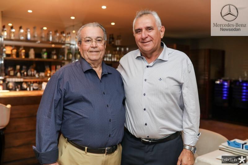 Meton Vasconcelos e Almirante Leandro