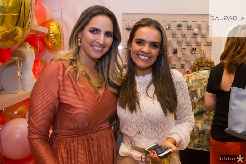 Mariana Queiroz e Lilia Macedo