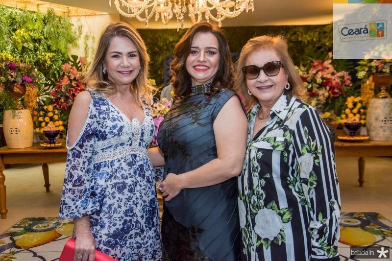 Ana Luiza Barreira, Lia Freire e  Gladys Barreira