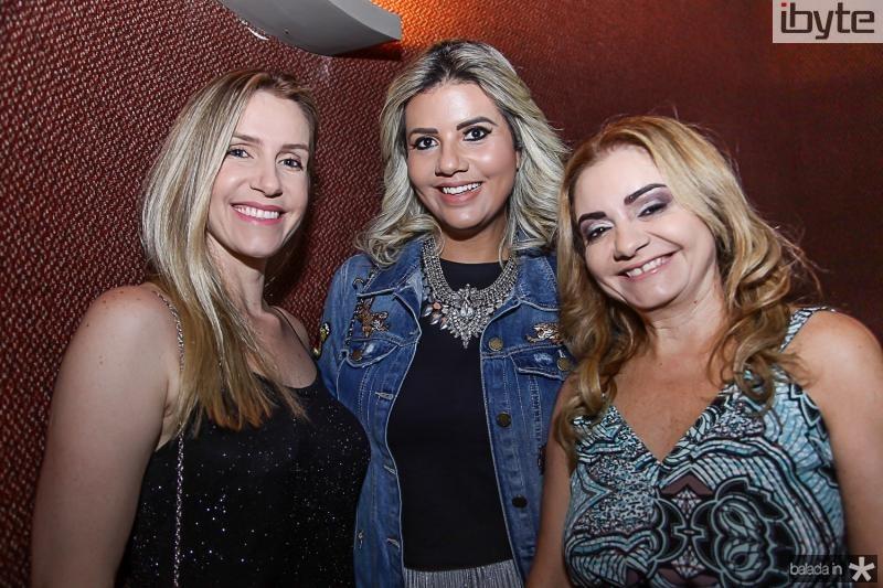 Karine Germanovix, Anelise Barreira e Ana Cristina Camelo