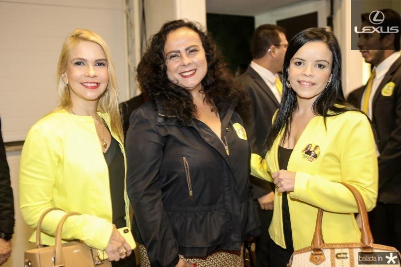 Sheila Melo, Isabel Cecilia e Katiane Virna
