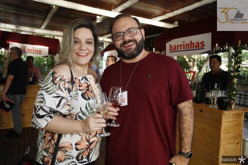 Patricia Ferreira e Victor Costa
