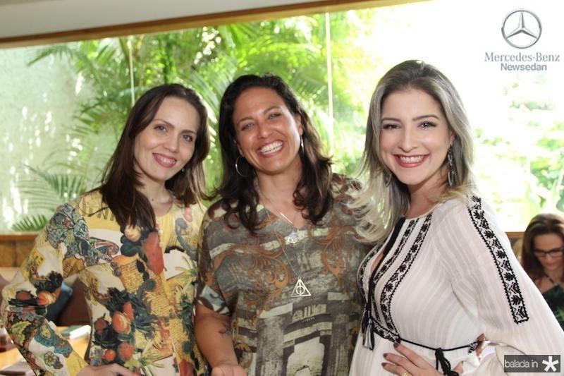 Cintia Sampaio, Bianca Petrillo e Leiliane Pinheiro