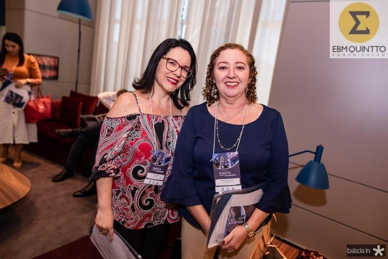 Adriana Martins e Aurenir Aragao