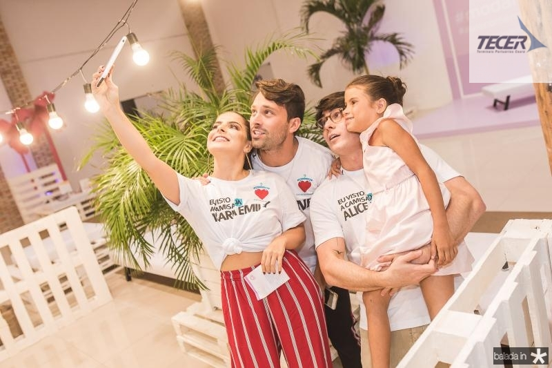 Natasha Diniz, Thiago Maciel e Laercio Marques