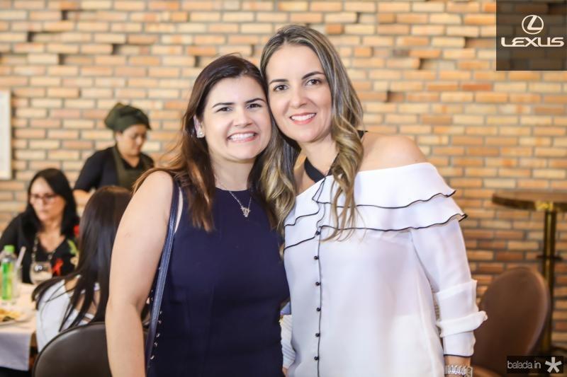 Ticiana Brigido e Raquel Vasconcelos