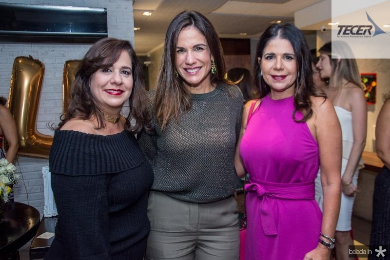 Martinha Assuncao, Ana Virginia Martins e Maria Lucia Negrao