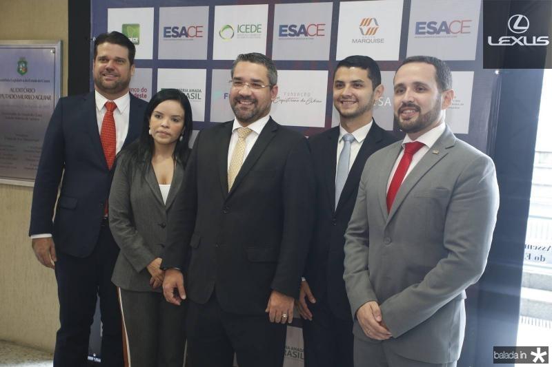 Pedro bruno, Katianne Virna, Savio Aguiar, Jonas Gomes de Matos e Adreson Feitosa