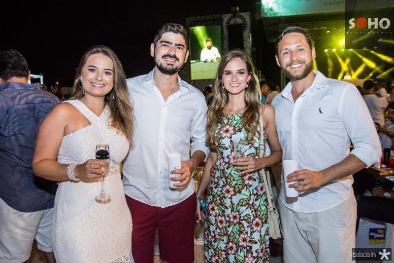 Gabriela Queiroz, Gilan Junior, Luis Baran e Lucas Leite