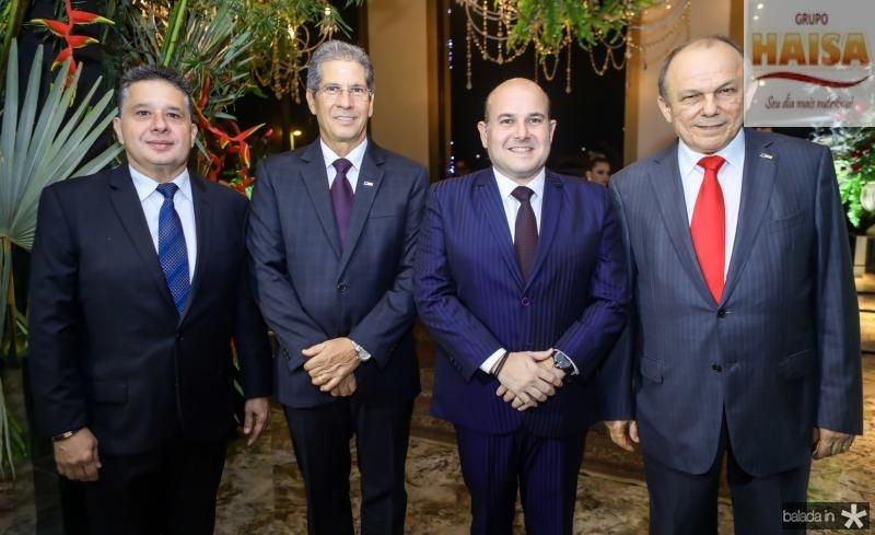 Gerardo Bastos Filho, Ramalho Neto, Roberto Claudio e Honorio Pinheiro