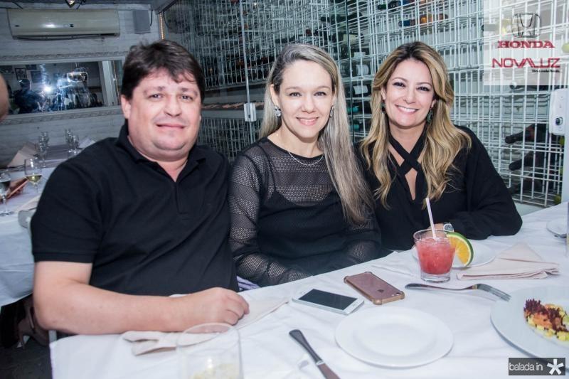 George e Erica Lima e Tatiana Luna
