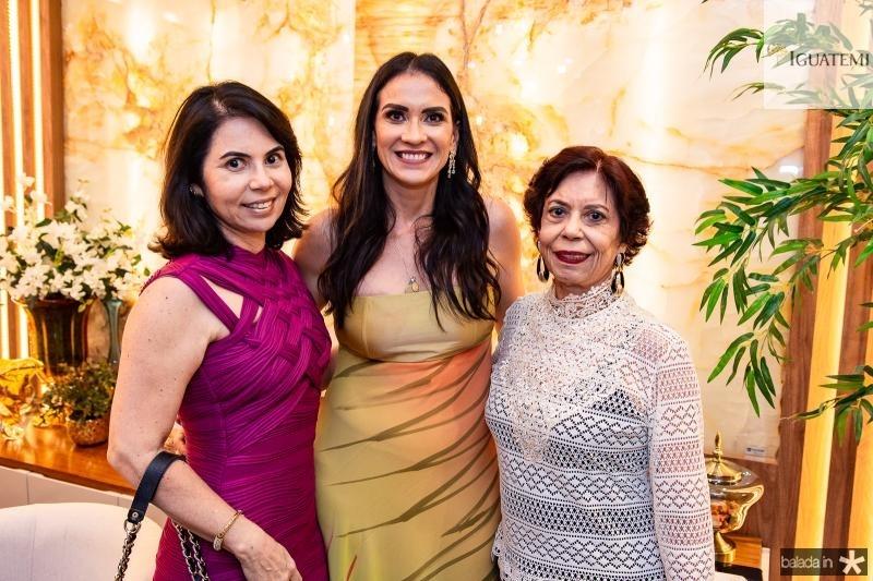Alda Oliveira, Luciana Carioca e Emilse Barros