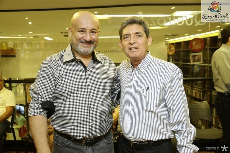 Andre Mota e Lino Menezes