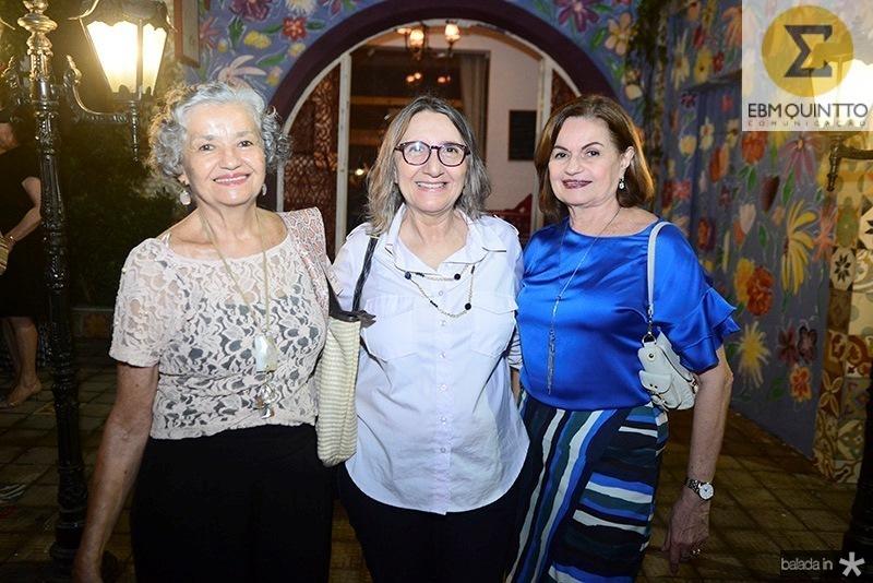 Claudia Lima, Jacinta Cavalcante, Socorro Barreira