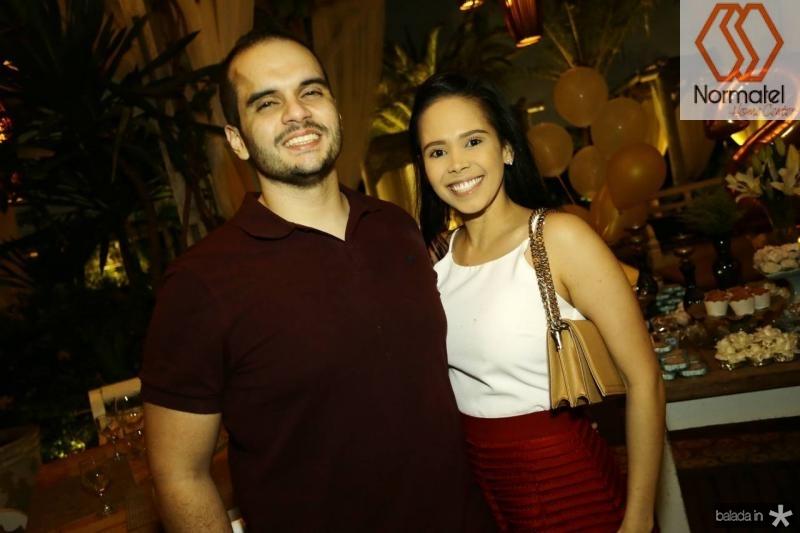 Rafael Vasquez e Carol Barbosa