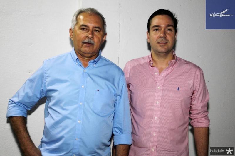 Nezinho Farias e Eduardo Bismarck
