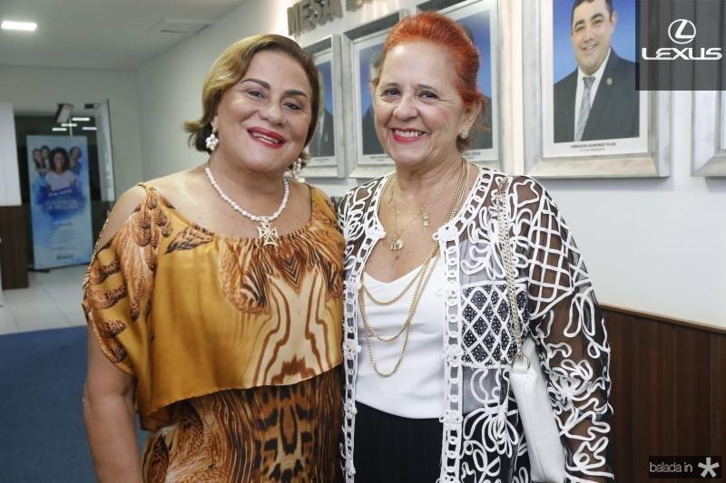 Carila Sampaio e Fatima Duarte