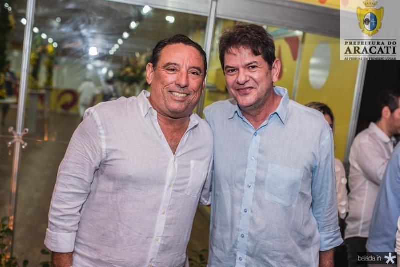 Mauricio Pinheiro e Cid Gomes
