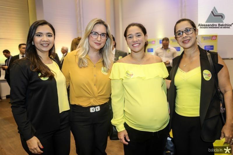 Jamile Araujo, Monica Vanderlei, Renata Mota e Rosana Ramos