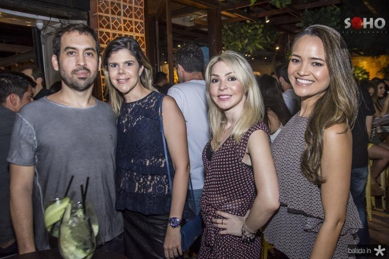 Claudio Mota, Camila Sousa, Barbara Arrais e Veronica Porto
