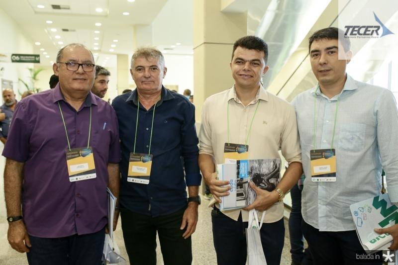 Erenarco,Marcondes Juca, Bismark Bezerra e Castro Junior
