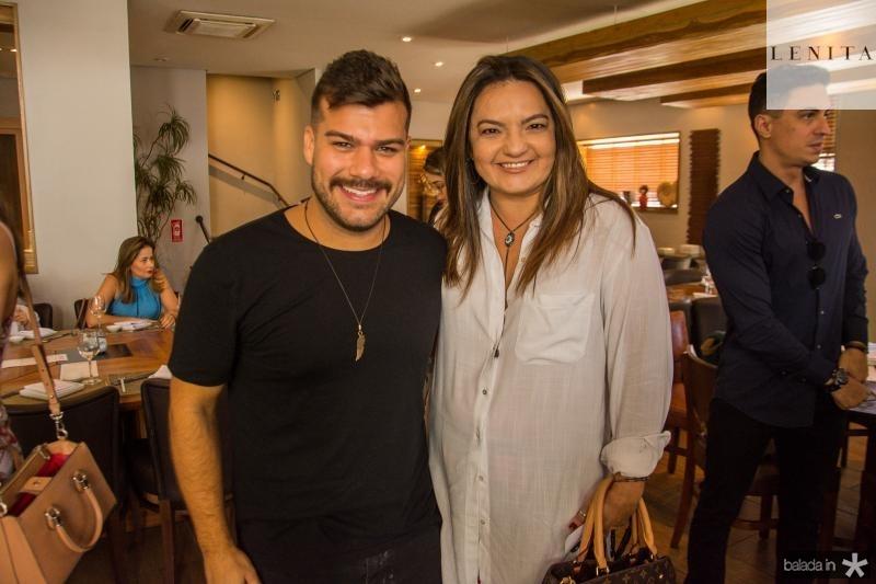 Diego Cavalcante e Gigi Passos