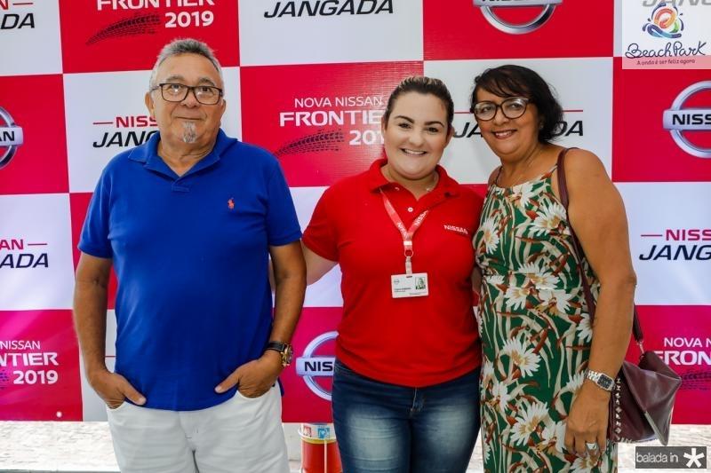 Batista Lopes, Virginia Sobreira e Ivonete Lopes