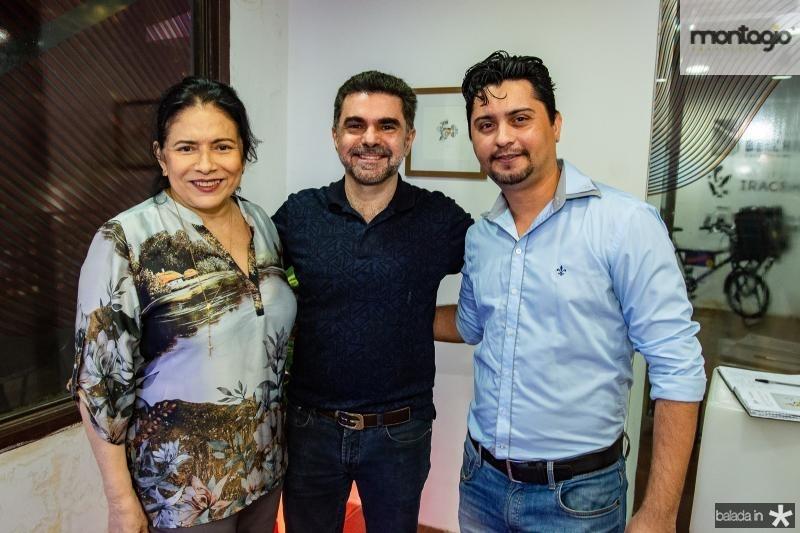Lucia Penaforte, Isaac Furtado e Vanger Santos