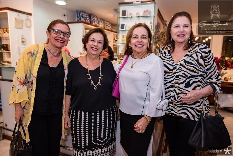 Iolanda Castro, Julia Philomeno, Graca Barreto e Germana Viana
