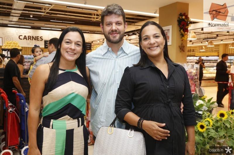 Luciana Rangel, Caio e Cristiana Memoria