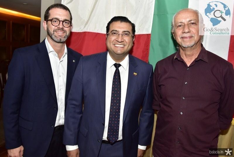 José Maria Zanocchi, Sergio Baias e Marcos de Castro
