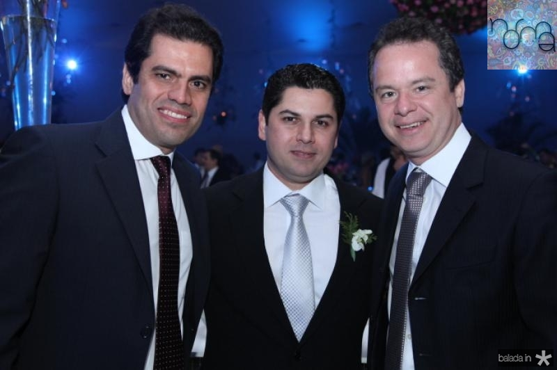 Etevaldo Nogueira, Pompeu Vasconcelos e Lisandro Fujita