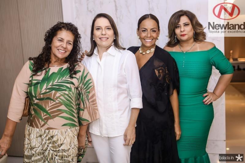 Ana Maria Borges, Denise Bezerra, Gil Santos e Montielli Arruda
