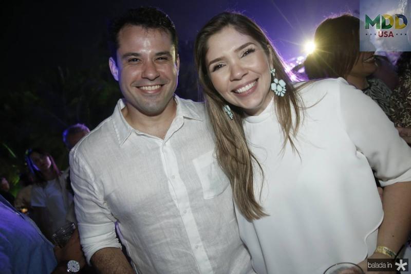 Fabio Chaves e Marcela Holanda