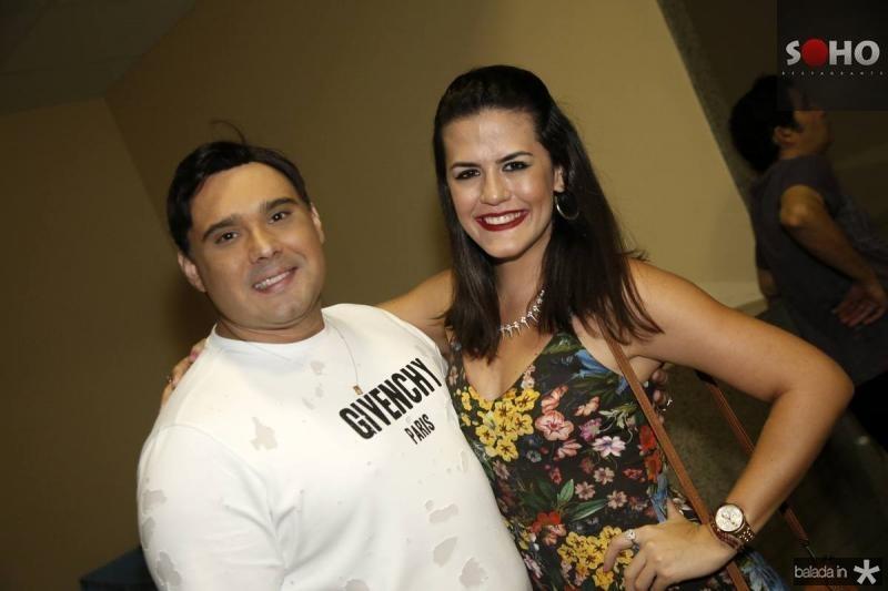 Julio Macedo e Nayana Firmeza
