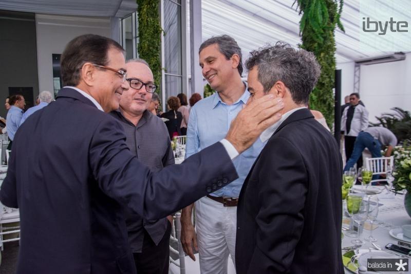 Beto Studart, Thiago Santana e Fabiano Piuba