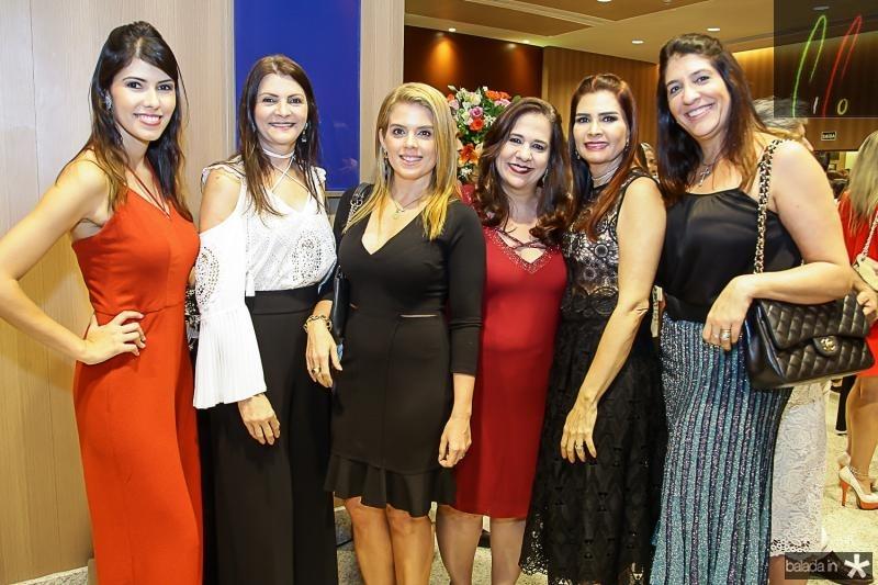 Flavia Simoes, Liliana Farias, Leticia Studart, Martinha Assunçao, Lorena Pouchain e Elisa Oliveira