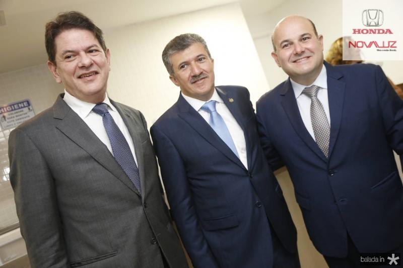 Cid Gomes, Antonio Henrique e Roberto Claudio 2