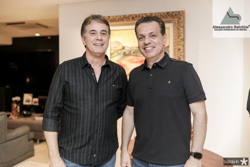 Marcos Pessoa e Leo Dallolio