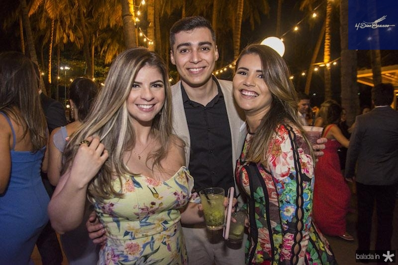 Louize Braga, Leonan Vasconcelos e Samila Almeida
