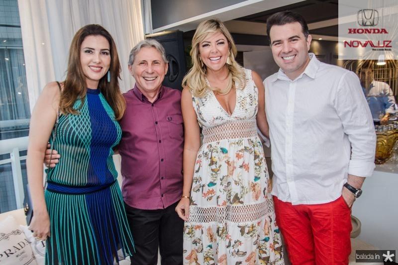 Luiza Caminha, Vilmar Ferreira, Patricia Dias e Danilo Dias