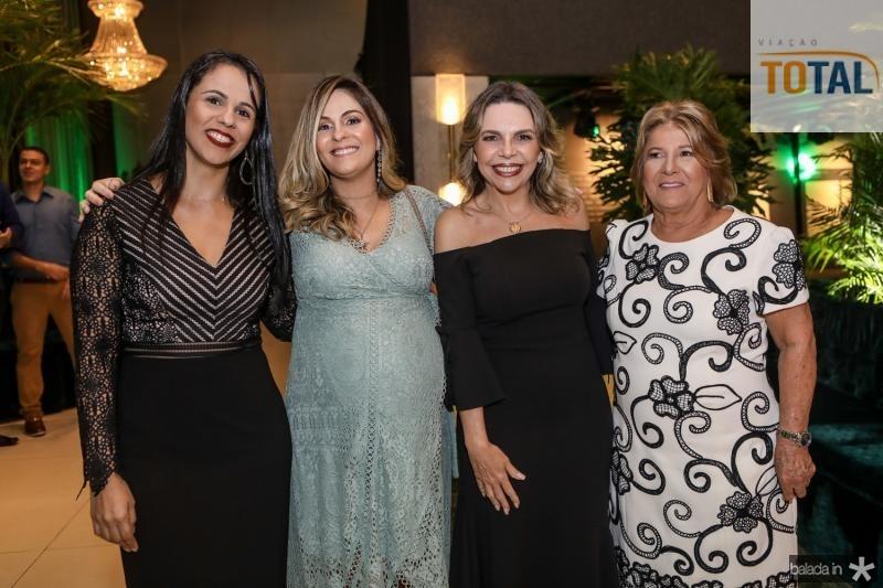 Daniela Ribeiro, Mariana Mota, Lilian Porto e Ana Lucia Mota