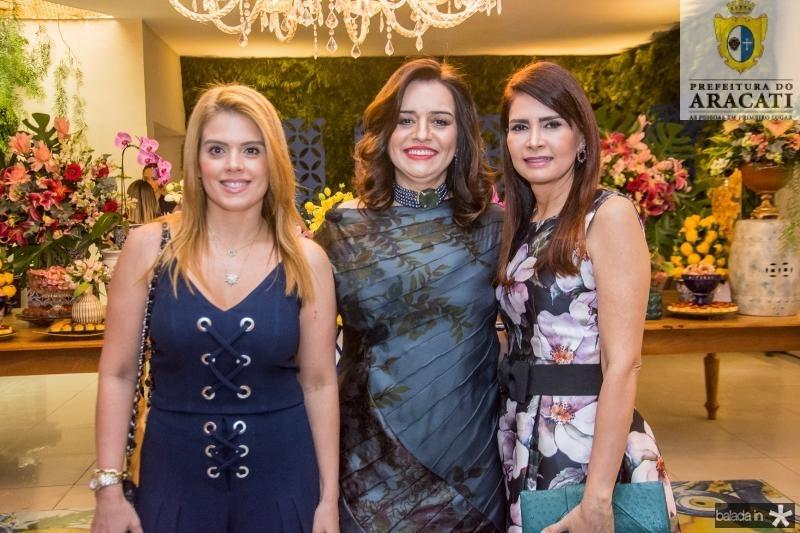 Leticia Studart, Lia Freire e Lorena Pouchain